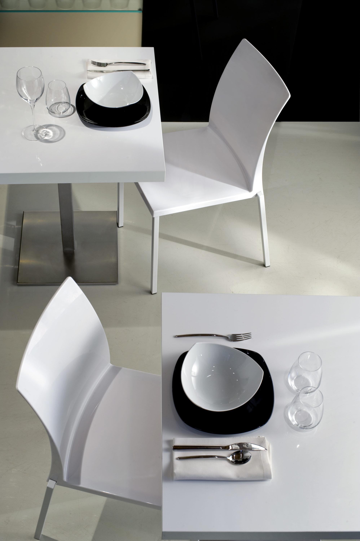 Sedia ice e tavolo inox fotografo brescia ottavio tomasini for Pedrali arredamento