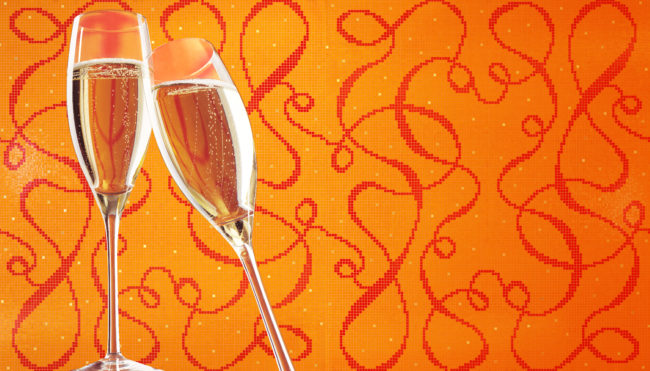 invito Bisazza Veuve Clicquot