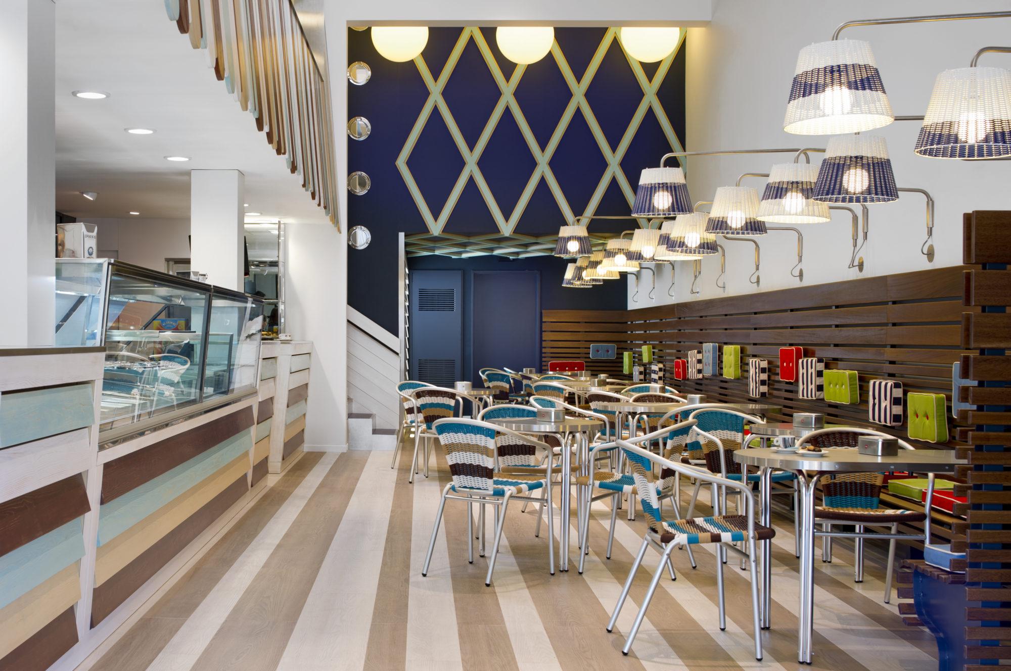 Architetto antonio gardoni interno del negozio for Arredamento architettura interni