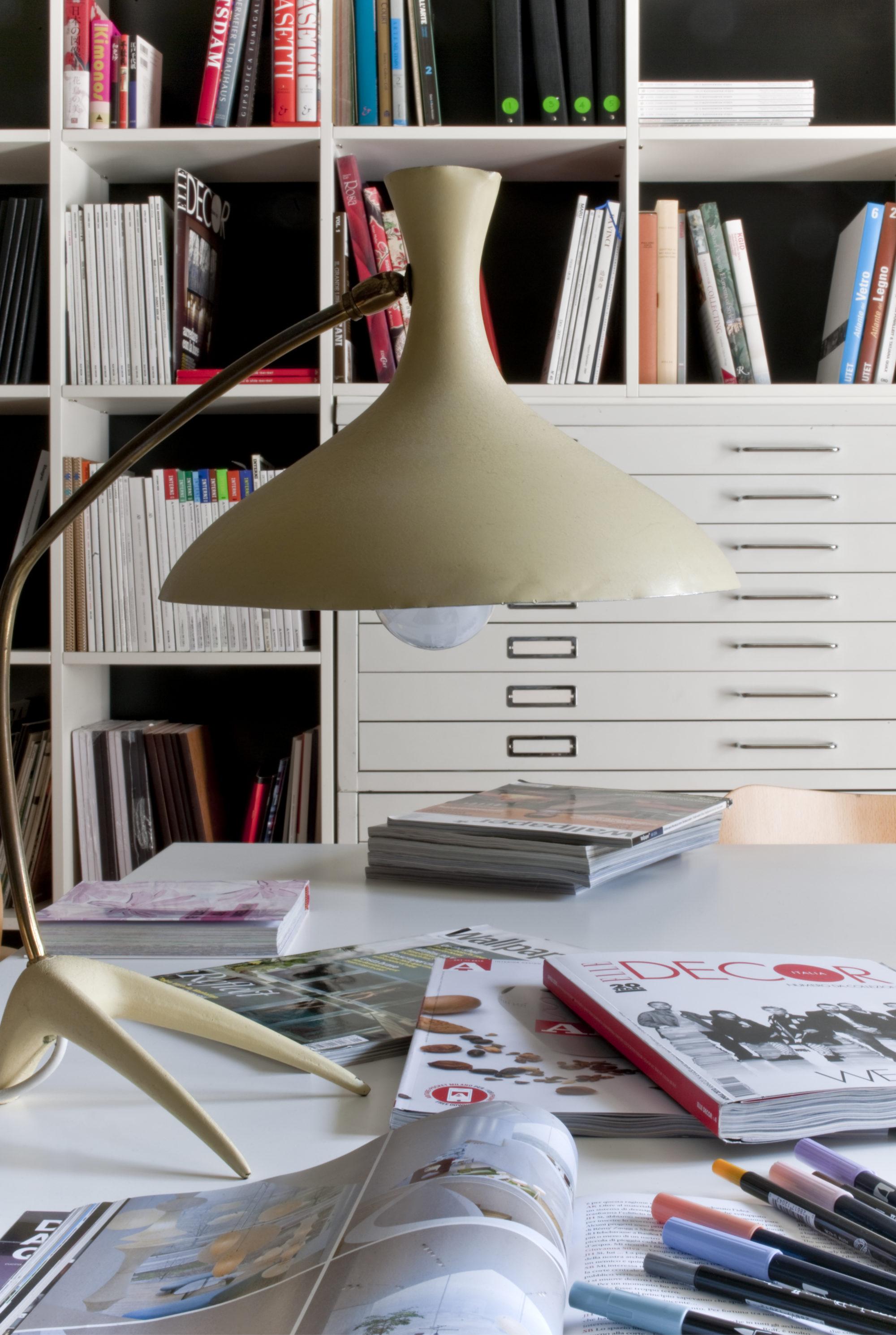 Architetto carlo dal bianco bibblioteca dello studio for Architetto arredamento interni