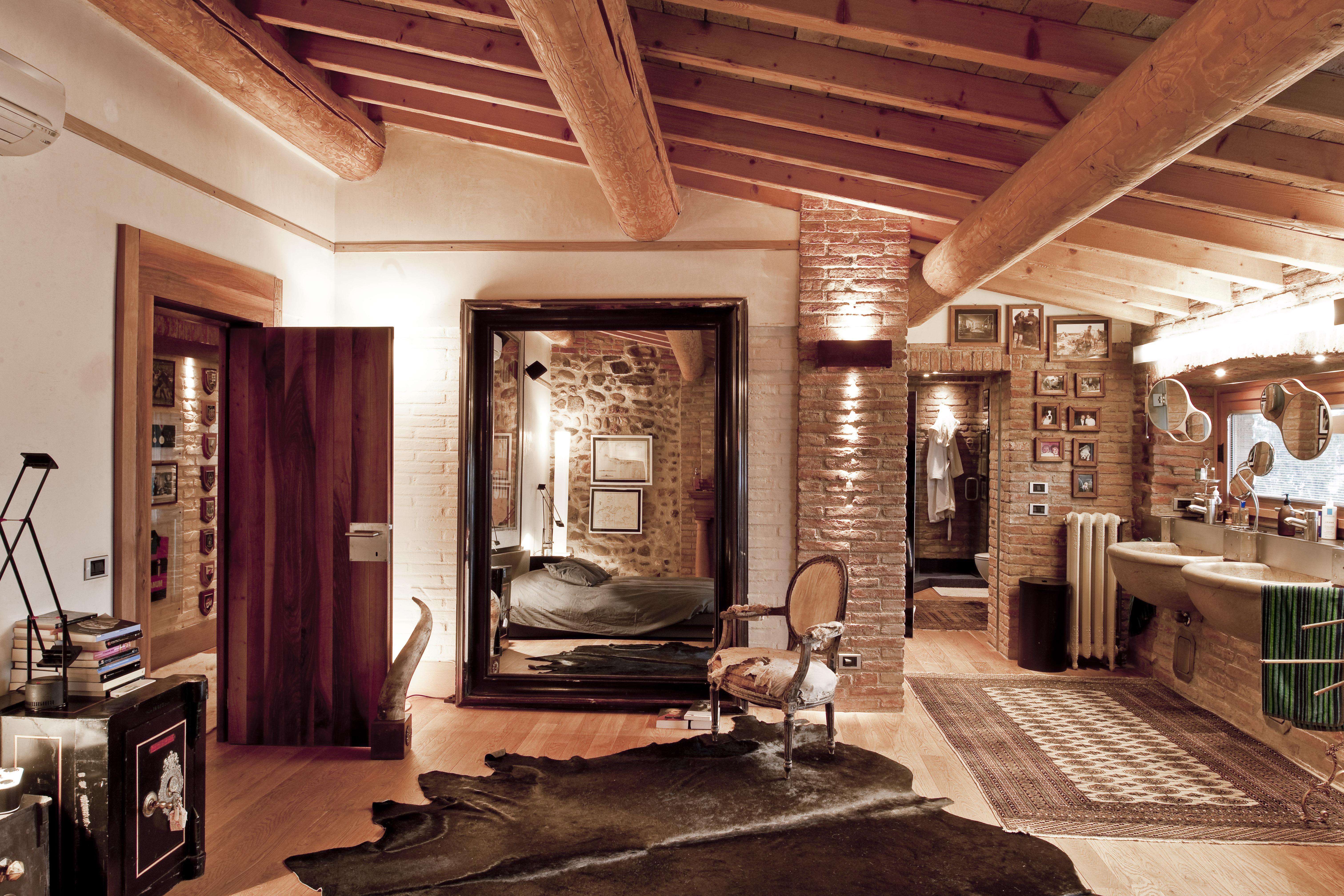 Casa di campagna interno fotografo brescia ottavio tomasini