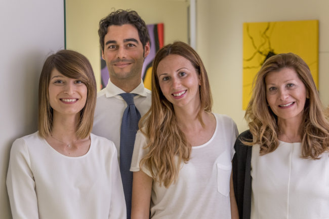 Staff dell'ambulatorio