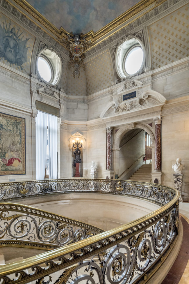 Interno del Castello di Chantilly