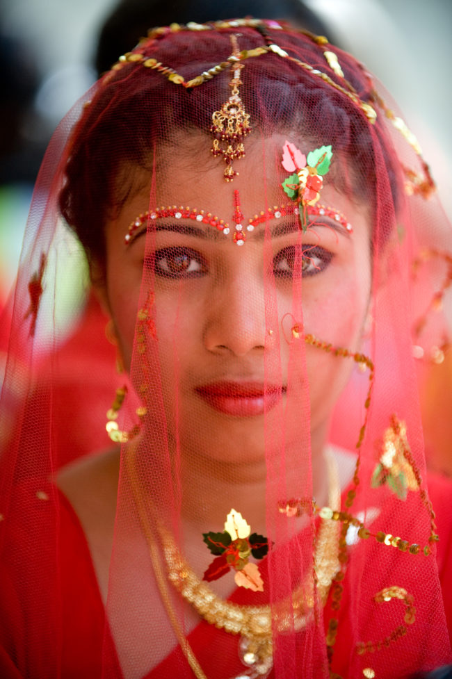Sposa nepalese