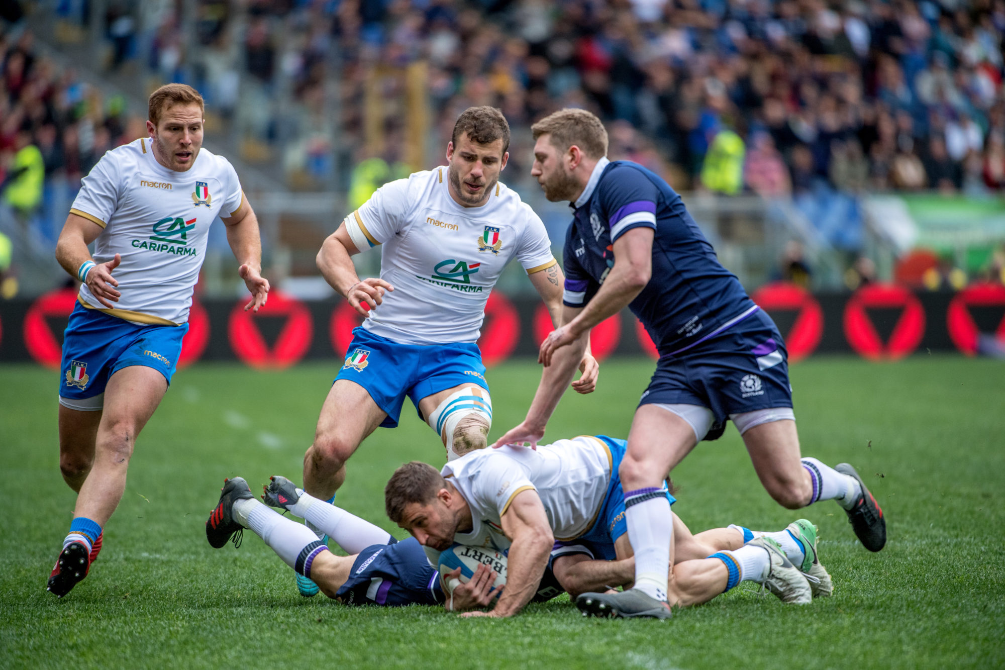 Foto di ItalRugby: 6Nations ItavsSco